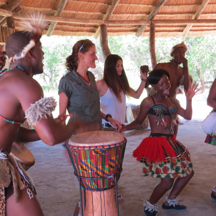 Interactive Tribal Dancing